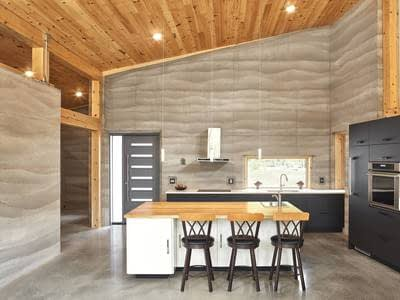 The dirt on rammed earth