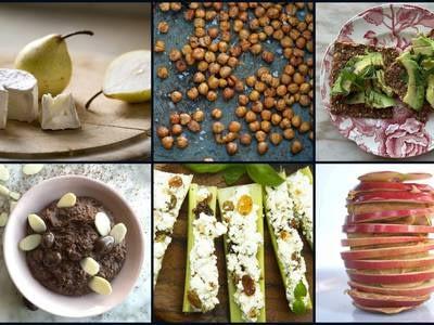 31 healthy, satisfying snack ideas
