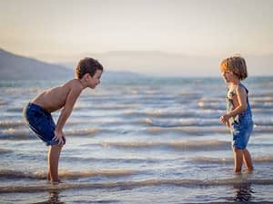 Outdoor children are happier children