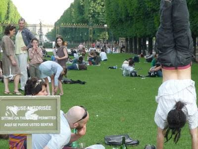 Paris has closed its parks to help stop an illness, when they could be part of the cure