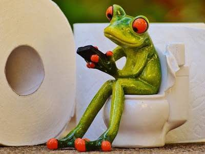 Don't flush anything other than toilet paper