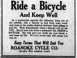 A picture is worth… Ride a bike and stay well