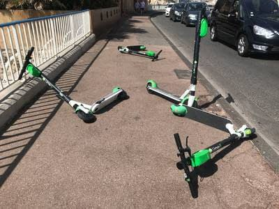 E-scooters are not a menace; the real threat on the sidewalks is still the car.