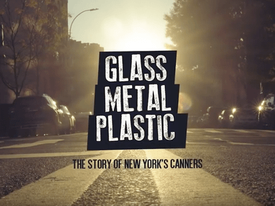 'Glass, Metal, Plastic' offers a glimpse into the world of New York's bottle collectors